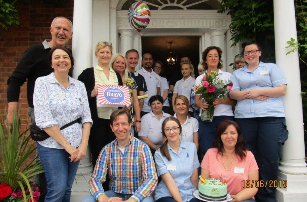 June Celebrations at our Care Home